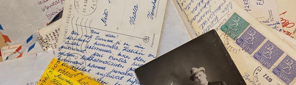 Kirjeenvaihtoa vuosikymmenten takaa
